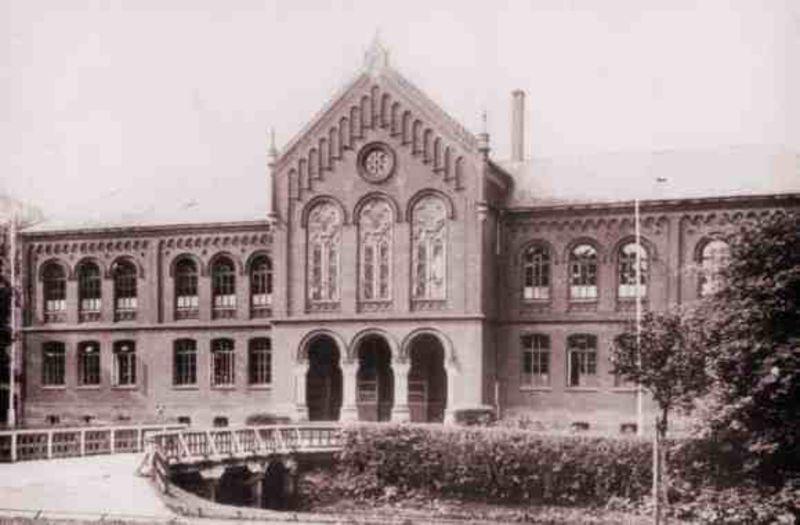 Altes Gymnasium 1925
