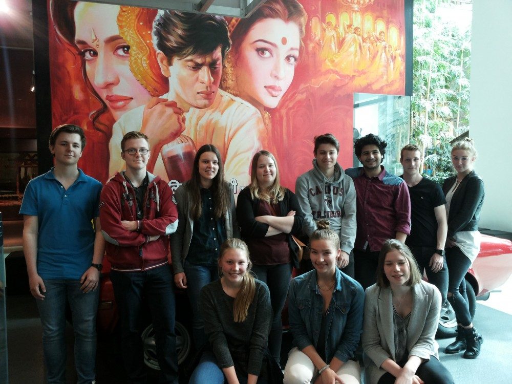 """Bollywood or Bust"" - Bilingual Class visits Overseas Museum in Bremen"