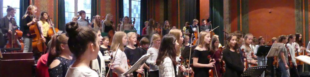 Konzert der Streicherklassenkooperation mit Stade