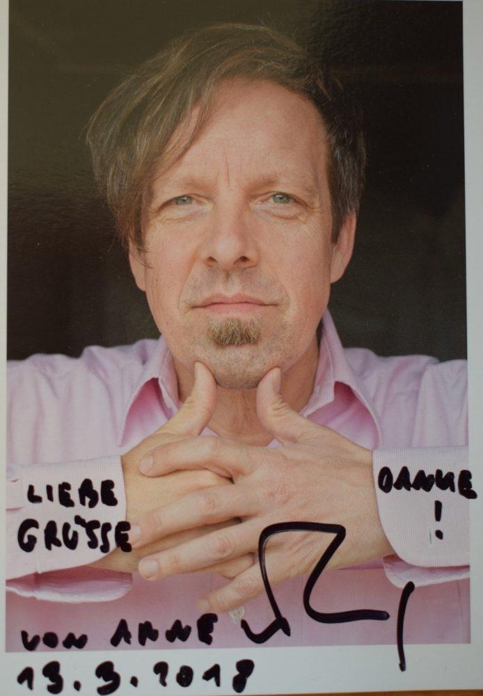 Dichterlesung mit Lyriker Arne Rautenberg am AGO