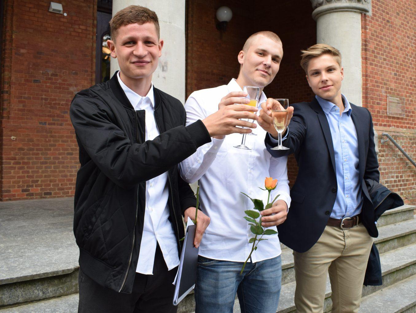 Abschied von der Schule - Abitur 2018