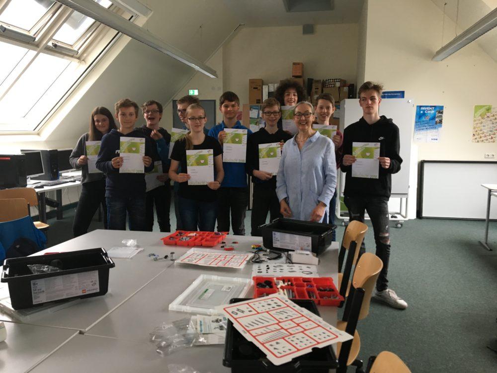 Erfolge bei Jugendwettbewerb Informatik