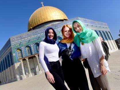 AGO-Schüler als Friedensbotschafter in Israel