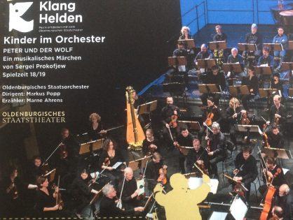 Kinder im Orchester