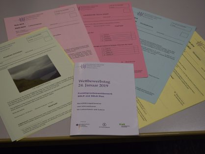 5 Jahre Bundeswettbewerb Fremdsprachen am AGO