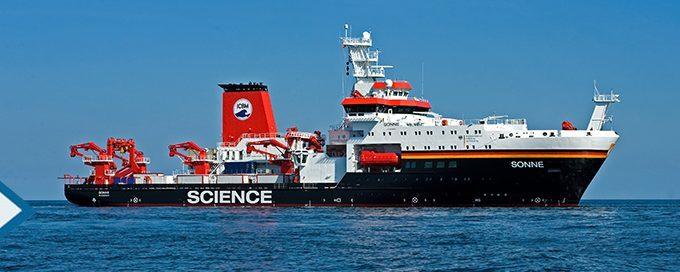 """Projekt """"Sonne"""" – direkter Kontakt zum Forschungsschiff"""