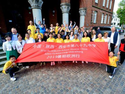 Chinesische Schüler zu Gast am Alten Gymnasium