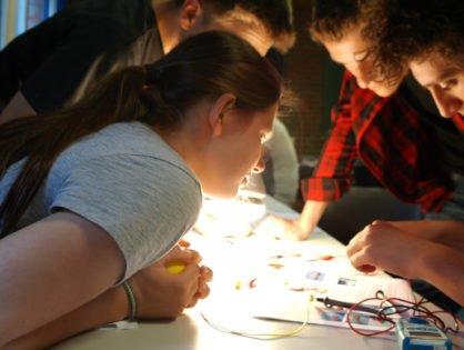 Kick-Off-Meeting im Meerweg  - Gute Aussichten für unsere jungen Forscherinnen und Forscher