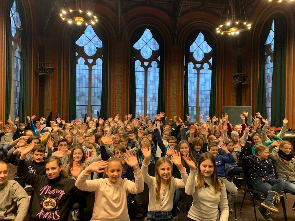 Emma Hemken gewinnt Vorlesewettbewerb