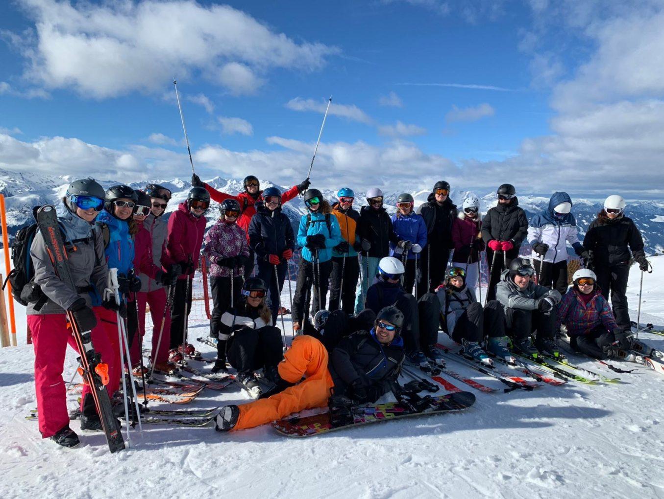 Skifahrer sind zurück!