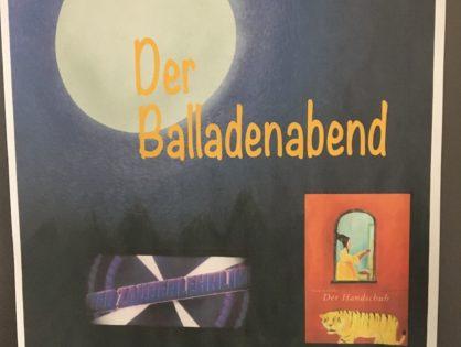 Balladen... altbacken, verstaubt, schwer zu verstehen?!?!