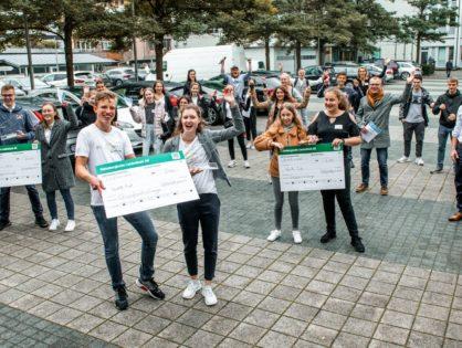 Die besten Ideen: AGO sehr erfolgreich bei Gründer-Challenge!