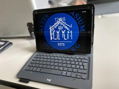 Freunde des AGOs fördern Digitalisierung durch iPad Spende