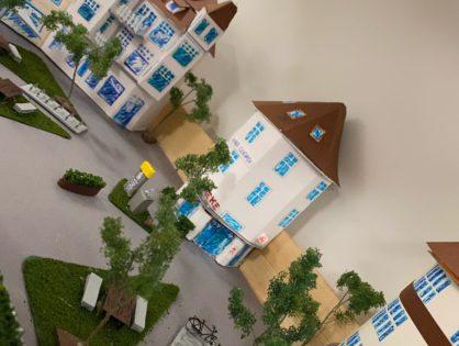 Oldenburger Plätze im Modell