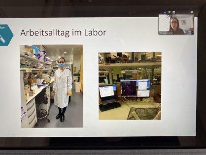 Online-Austausch mit Wissenschaftlerin aus London